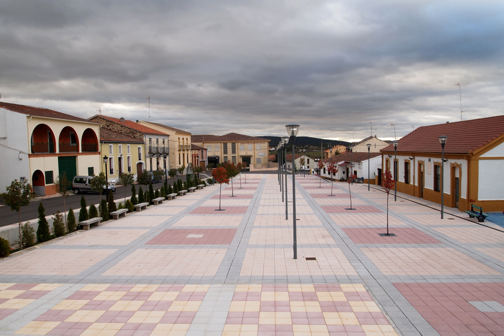 Plaza Mayor de Campillo de Salvatierra