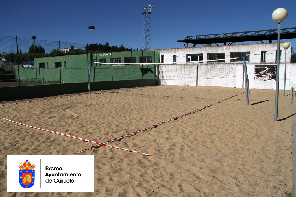 Pista de voley playa